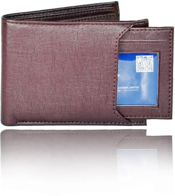 Forester Men Formal Brown Artificial Leather Wallet
