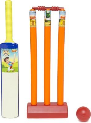 Chhota Bheem Cricket Set SML PVC