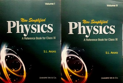 New Simplified Physics A Reference Book For Class Xi Set Of 2 Books 2018-19 Edition
