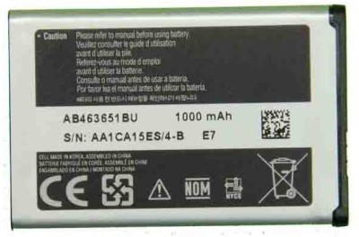 laiba international Mobile Battery For SAMSUNG OG Mobile Battery For L700 | Chat 322 C3222 | GURU Music 2 B310E | Metro 313 B313E