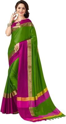 HITESH ENTERPRISE Self Design Fashion Cotton Silk Saree