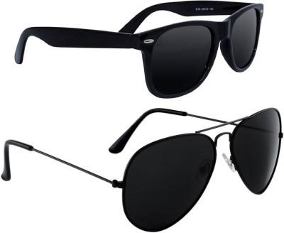 Deixels Aviator, Wayfarer Sunglasses