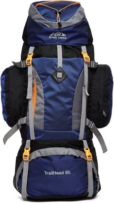 Mount Track R16 Climate proof Trail-Head Mountain Trekking & Hiking/ Camping Backpack 80 Ltrs with Rain Cover Rucksack