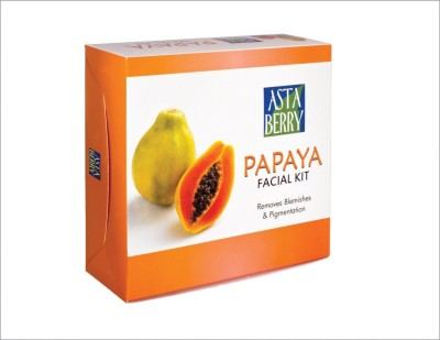 Astaberry Papaya Facial Kit (12 Facial) 400 g