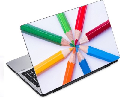 ezyPRNT Pointed Pencil Colors (14 to 14.9 inch) Vinyl Laptop Decal 14
