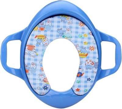 Kidoyzz Soft Cushion Comfortable Potty Trainer Seat for Potty Training Seat with Support Handles for kids KDBYPS027 Potty Seat