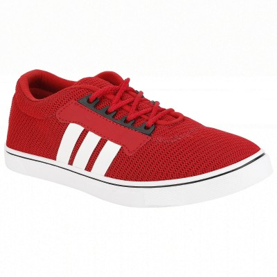 Alvess Mens Red Casual Shoes Sneakers For Men