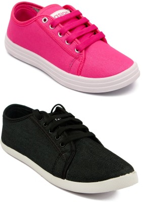 Asian women's casual shoes combo pack of 2 Sneakers For Women