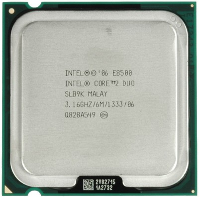 Intel 3.16 GHz LGA 775 e 8500 Processor
