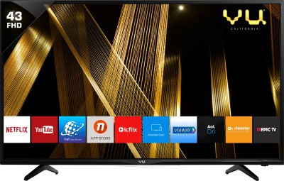 Vu Premium Smart 109cm (43 inch) Full HD LED Smart TV