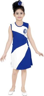 nukids Girls Midi/Knee Length Casual Dress