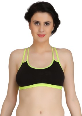 Fashion Comfortz byFashion Comfortz Women's Sports Non Padded Bra