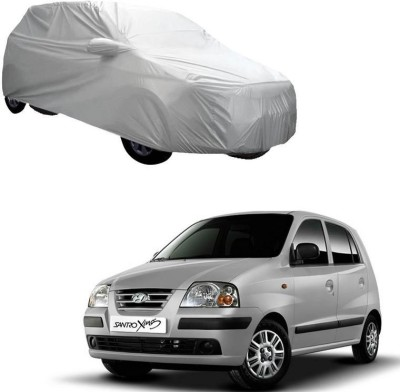 AutoKraftZ Car Cover For Hyundai Santro Xing (With Mirror Pockets)