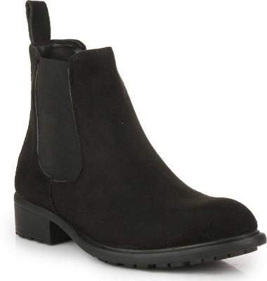 Bruno Manetti BM-14552-S-Black Boots For Women