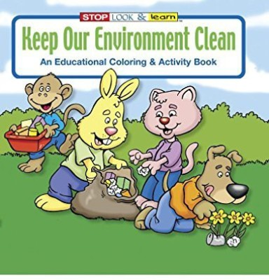 Safety Magnets Keep Our Environment Clean Kid'S Coloring & Activity Book In Bulk (25-Pack)