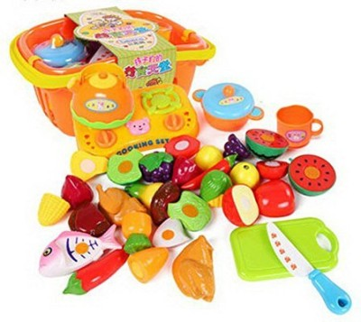 Generic 21 Sets Baby/Child DiyKitchen Playset Color Recognition Random Color