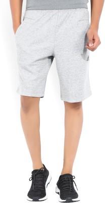 ADIDAS Solid Men's Grey Sports Shorts