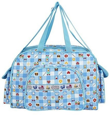 Guru Kripa Baby Products ™ Presents New Born Baby Multypurpose Mother Bag With Holder Diaper Changing Multi Compartment For Baby Care And Maternity Handbag Messenger Bag Diaper Nappy Mama Shoulder Bag Diaper Bag For Baby Multipurpose Waterproof Mother Bag Diaper Bag Blue New Born Baby Mother Bag/Diaper Bag