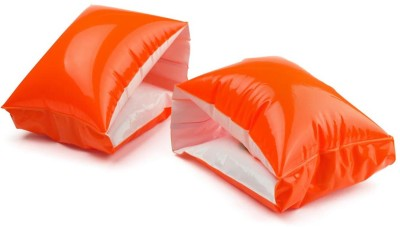 GLS Swimming Safety Inflatable Arm Band Pair - Orange Swimming Kit