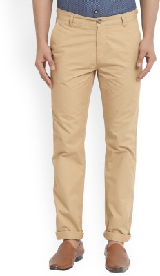 U.S. Polo Assn Slim Fit Men's Beige Trousers