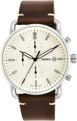 Fossil FS5402 COMMUTER Analog Watch  - For Men