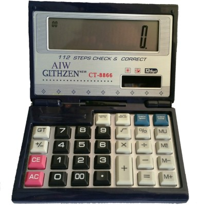 AIW CT-8866 CLTHZEN 12 Digit Scientific  Calculator