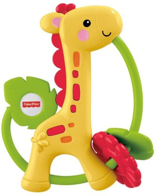 Fisher-Price Giraffe Clacker Rattle