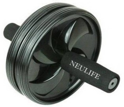 Neulife Unisex Ab Abdominal Roller For Home & Gym Workout Equipment to assist Sit Up Exercise Equipment Ab Roller Ab Exerciser