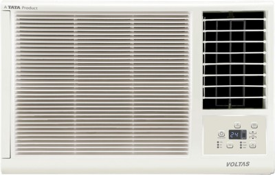 Voltas 1 Ton 3 Star BEE Rating 2018 Window AC  - White