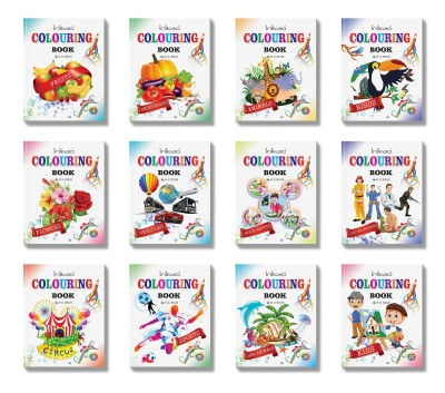 Colouring Book Collections from Inikao - Inikao Colouring Books Kids
