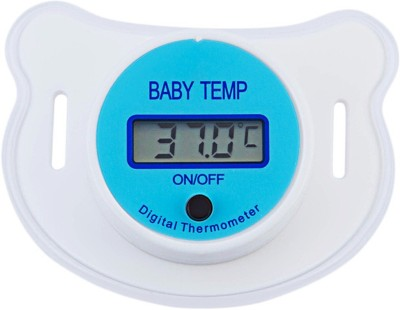 DALUCI Baby Nipple Thermometer Medical Silicone Pacifier LCD Digital Children's Thermometer Health Safety Care Thermometer Bath Thermometer