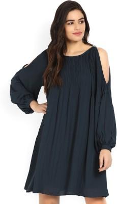 Vero Moda Women's A-line Dark Blue Dress