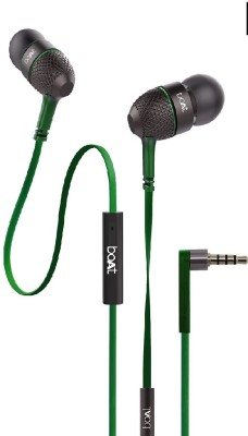 boAt 225 Forest Green Wired Headset with Mic