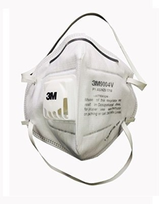 3M Particulate Respirator 9004 V White (Pack of 5) Mask and Respirator