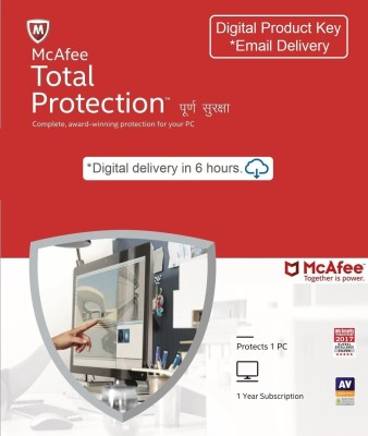 McAfee 1 User 1 Year Total Security Activation Code