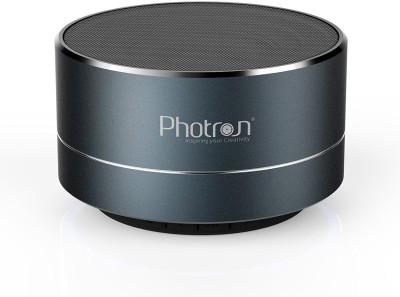 Photron P10 Wireless 3W Super Bass Mini Metal Aluminium Alloy Portable Bluetooth Speaker With Mic 3 W Bluetooth  Speaker
