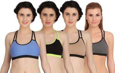 Fashion Comfortz Women, Girls, Girl's, Women's Sports Non Padded Bra