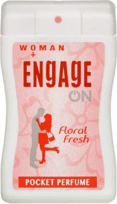 Engage On Floral Fresh Perfume Body Spray  -  For Women