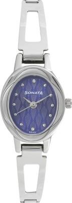 Sonata 8085SM03 Pankh Analog Watch  - For Women