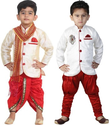 FTC FASHIONS Boys Festive & Party Dhoti & Kurta Set