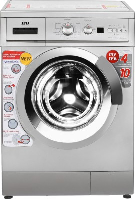 IFB 7 kg Fully Automatic Front Load Washing Machine Silver
