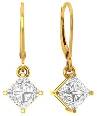 Kataria Jewellers Cute Yellow Gold 14kt Drop Earring