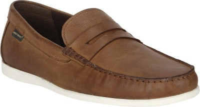 Red Tape Leather Loafers For Men