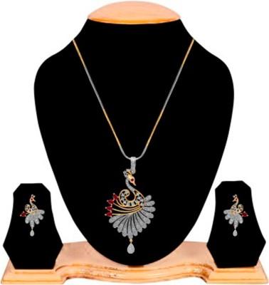 Alysa Brass, Copper Jewel Set