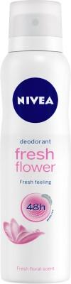 Nivea Fresh Flower Deodorant for Women Deodorant Spray  -  For Women