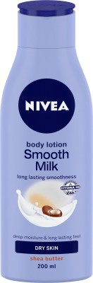 Nivea Smooth Milk with Shea Butter Body Lotion