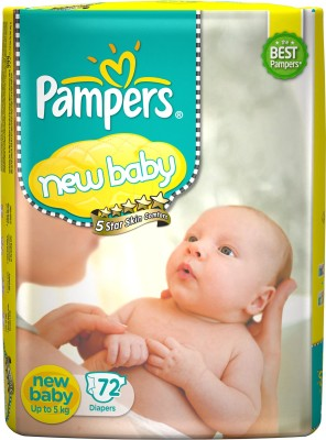 Pampers Active Baby Diapers - New Born