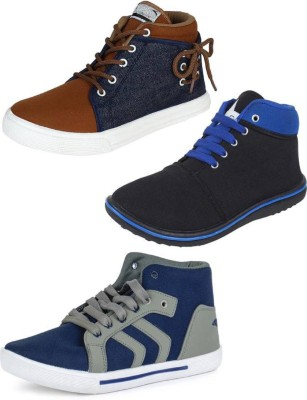 SHOEFLY Multicolor Combo-(3)-114-698-678 Sneakers For Men