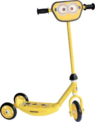 My Baby Excel Oops 3 Wheel Scooter Yellow & Black