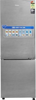 Haier 256 l Frost Free Double Door Bottom Mount 3 Star Convertible Refrigerator